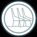• Versterk het stoere karakter van Hoek van Holland door aansluiting te vinden bij de aanwezige componenten in het gebied en de omgeving.  • Het inpassen van nieuwe elementen, zoals een observatieplatform, om onderdelen zoals de Nieuwe Waterweg beleefbaar te maken.