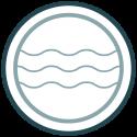 • Benut de ligging van het ontwikkelgebied buiten de primaire zeekering als kwaliteit. • Creëer een veilige verblijfsplaats waarbij rekening wordt gehouden met zeespiegel- stijging en waterkwaliteit.